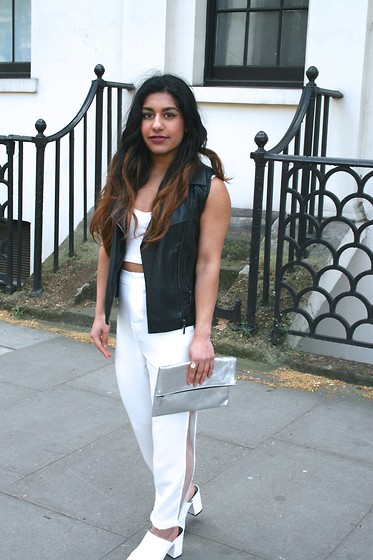 Missguided Mesh Cigarette Trousers