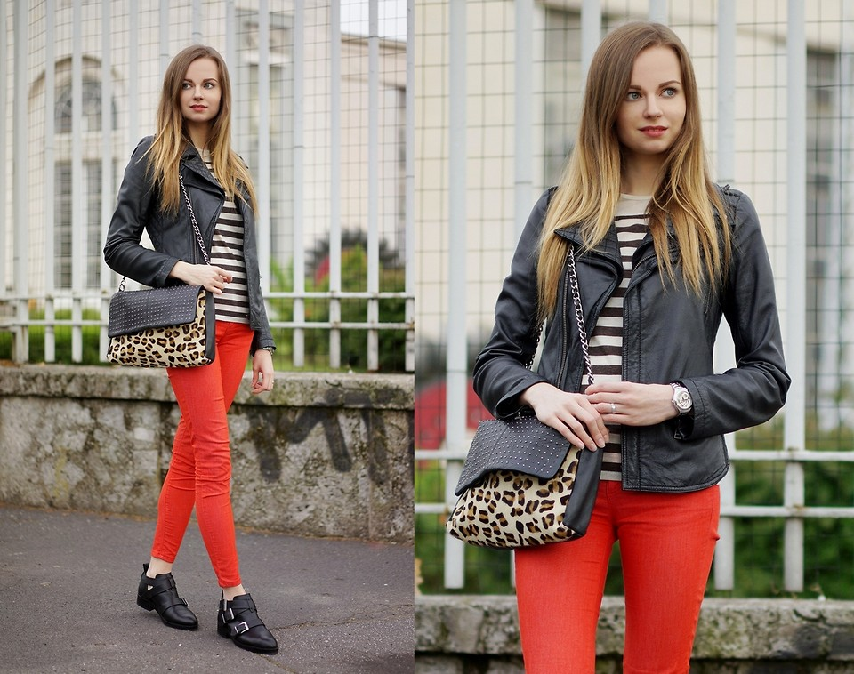 Fashionista NOW: 7 Ways To Wear Red Pants Fashion Inspiration