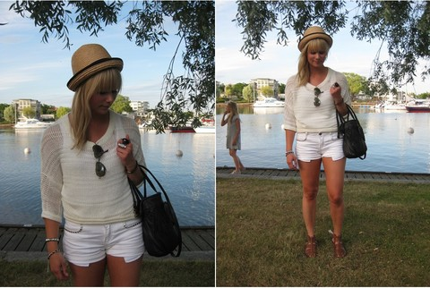 Sofie Ekstrom - Gina Knitted Sweater, Zara Shorts - Look of today