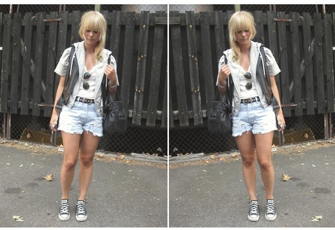 Sofie Ekstrom - Levi's® Levis Vintage Denom Short - Look of today