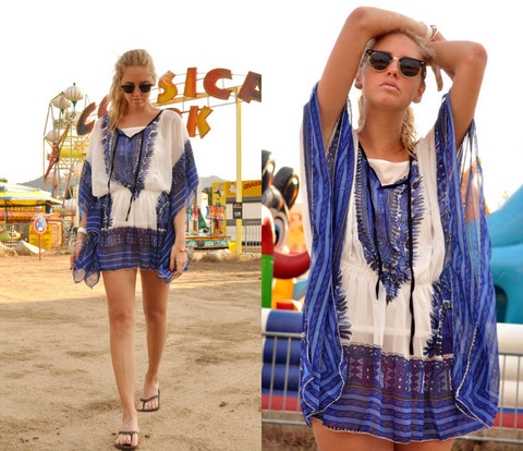 Chiara Ferragni - Dress Bought In Corsica - Corsica I love you!
