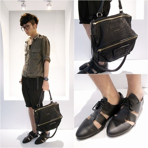 Curtis Yu - H&M Shirts, Shorts, Givenchy Pandora Bag, Shoes - We won't run