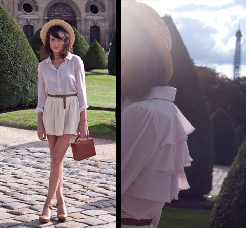Aurelia / Fashion is a Playground - Queen's Wardrobe Blouse, Zara Skirt, Vintage Handbag - °°°PiNk LAdy°°°
