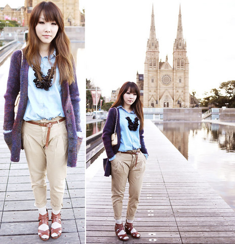 Ivy Xu - Wilfred Sweater, Zara Pants With Belt, Urge Shoes, Forever 21 Necklace - Church and museum, could it be greater?