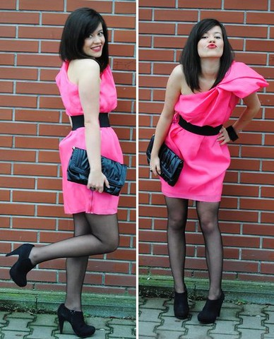 Fashionelka Eliza -  - Lanvin for h&m pink dress!