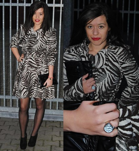 Fashionelka Eliza - H&M Lanvin For, New Look - Lanvin for h&m zebra trench coat!