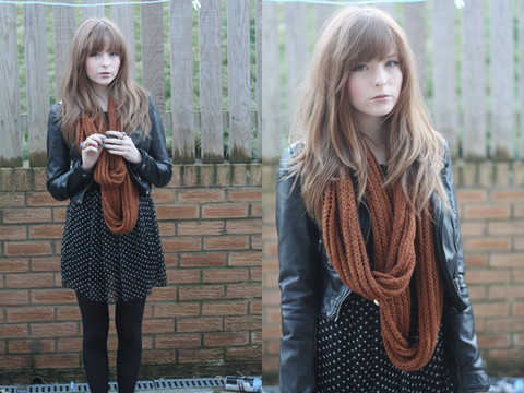 Rebekah D - Wholesale Dress.Net Dress, H&M Jacket, Asos Scarf - Her father and her