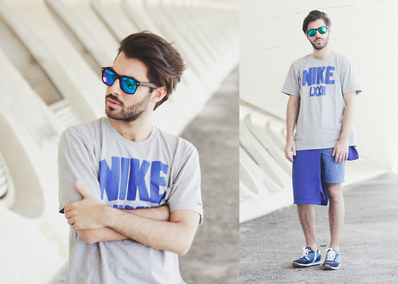 JJ Reyes - Nike T Shirt, H&M Shorts, Yumas Shoes, Zerouv Sunglasses - Sporty