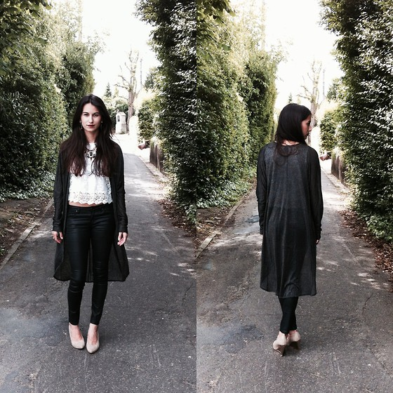 Lore Mosselmans - Zara Top - The long cardigan