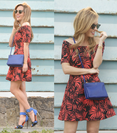 Cassandra De La Vega - Zara Dress, Céline Bag, Topshop Heels, Ray Ban Sunglasses - Palms & Laughs