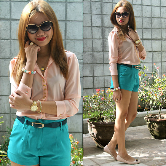 Mylz Romero - So Fab Flats, Michael Kors Gold Watch - Pastel Overload
