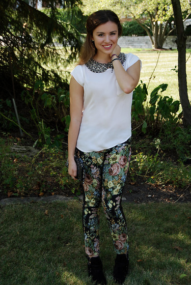 Chloe Parr - Blanknyc Floral Pants - Florals with an Edge