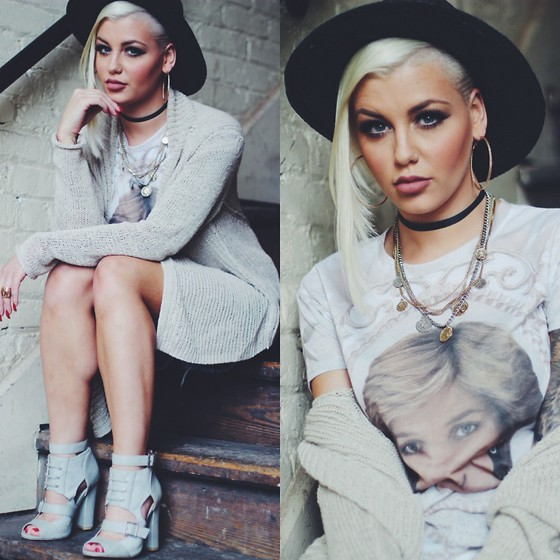 Samii Ryan - 360 Sweater, H&M Hat, Legacy Luxe Lush Shirt, Wildfox Couture Shorts - Princess