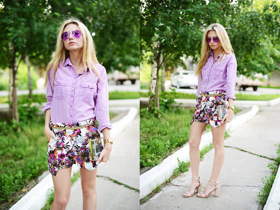 Valeriia Volkova - Sheinside Sheinside. Com Shorts - GIVEAWAY ON MY BLOG