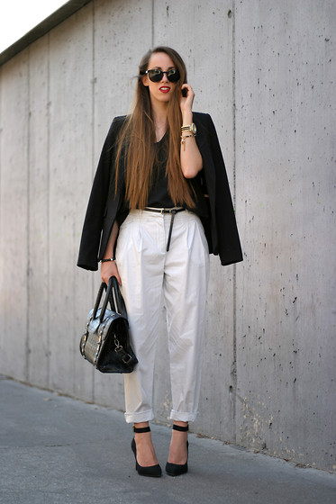 Talía Cardeña - Zara Pants - FORMAL LOOK