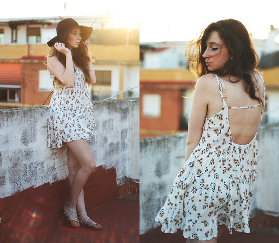 Francesca S - Brandy Melville Usa Dress - Sunflowers