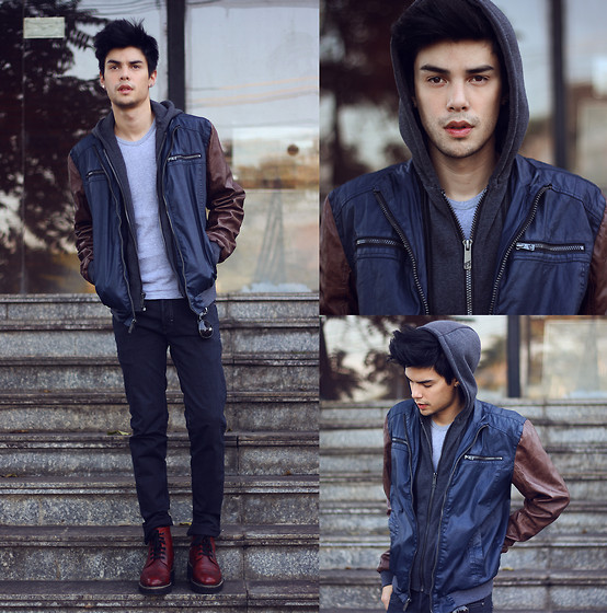 Vini Uehara - Px Clothing Jacket, Guidomaggi Shoes, Boga Pants - Shadow