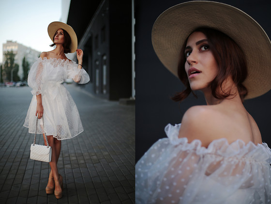 Tina Sizonova - Olga Skazkina Dress, Rebecca Minkoff Bag, H&M Hat - Like Air Creation...