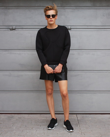 Martijn Maagdenberg - Céline Sunglasses, & Other Stories Sweater, Céline Wallet, H&M Shorts, Nike Sneakers - Untitled #4