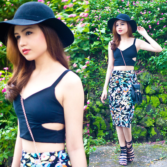 Nicole Aguinaldo - Stiles Clothing Crop Top, Stiles Clothing Skirt - Paint Me A Picture