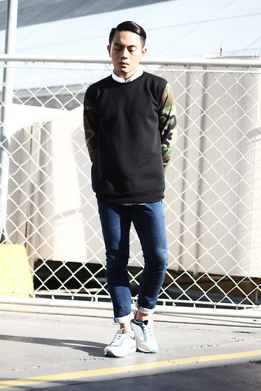 Miko Carreon - That's Phresh Pullover, Topman Sneakers - Phresh Camo