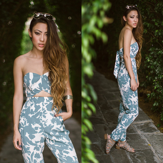 Jessica Wang - Asos Jumpsuit, Sam Edelman Sandals - NEVER STOP DREAMING