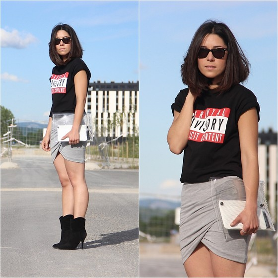 Romalo B - H&M T Shirt, Zara Skirt - PARENTAL ADVISORY