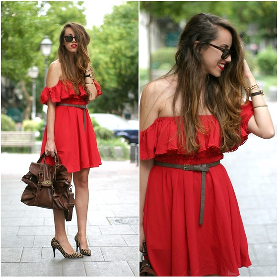 Talía Cardeña - Chic Wish Dress - Red dress