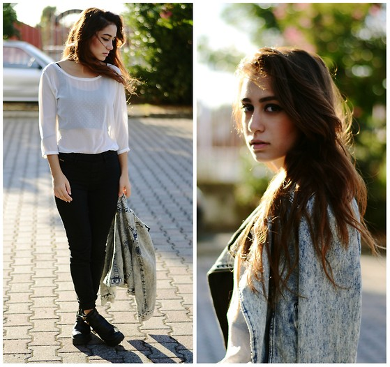 Roberta De Martino - Stradivarius Shirt, Pull & Bear Pants, Kaluma Shoes - Wind In My Hair