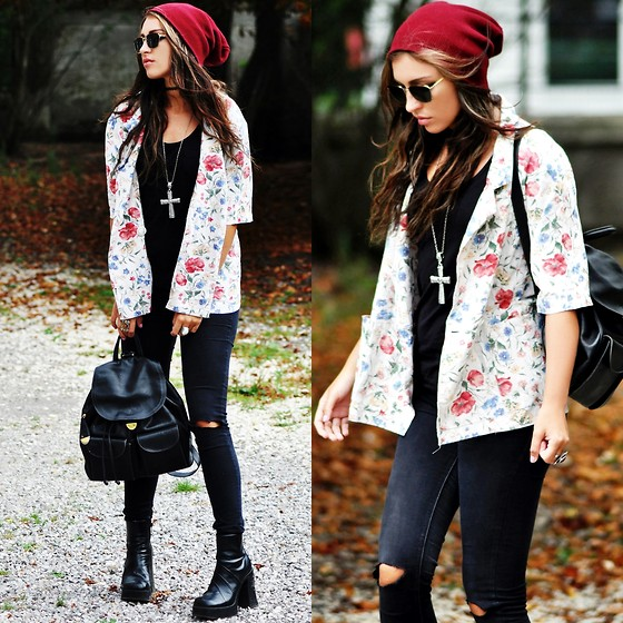 Killy Nicole -  - Floral Blazer