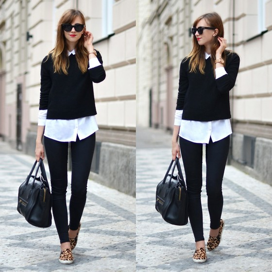 Barbora Ondrackova - Choies Cropped Sweater, Choies Plimsols - CROPPED SWEATER