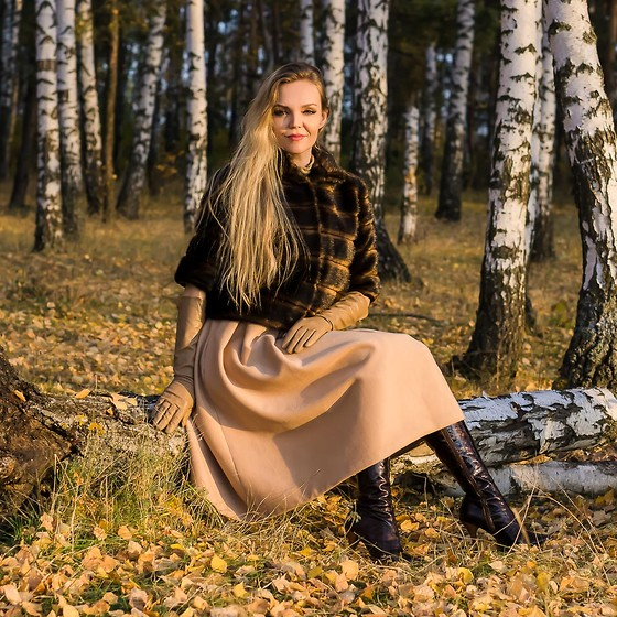 VIKY ❋ - Меховица Faux Fur Jacket - Ethical clothing warms the body and the soul