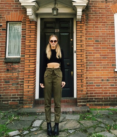 Laura Hayden - Bershka Trousers, Chanel Sunglasses, Purified Footwear Boots - To Autumn