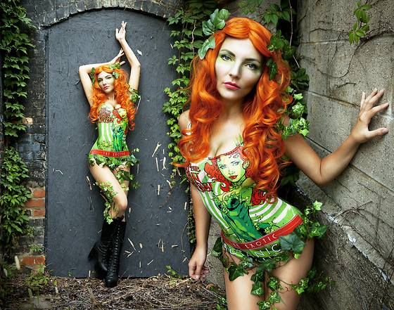 Melania Plasko - Black Milk Clothing Poison Ivy Suit - Poison Ivy
