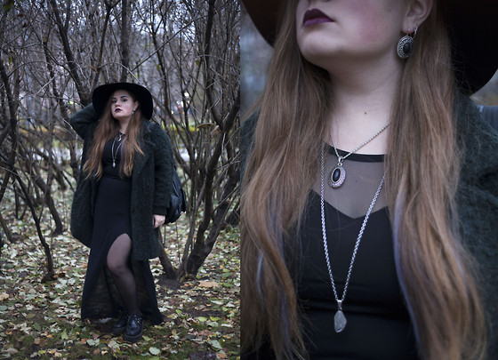 Sophie Soft - H&M Hat, Topshop Coat, H&M Top, H&M Skirt, T.U.K Creepers - Eternal Fall