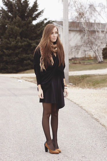 Breanne S. - The Free Island Wrap Sweater, H&M Asymmetrical Skirt - Wrapped Up