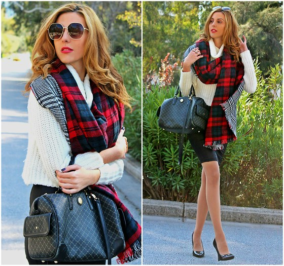 Pearls and Roses - New Look Tartan - Knit Luxury
