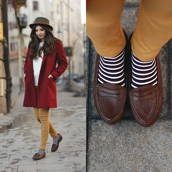 Larisa Costea - Oasap Hat, Oasap Pants, Persun Sweater, Sheinside Coat - Time traveler