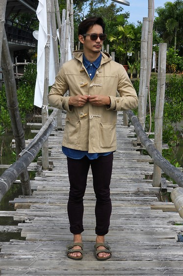 The Filo Dapper - Gu Fisherman's Jacket, Bench Denim Shirt, H&M Denim - Gone Fishing