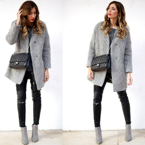 Mercedes Maya Lax - Zara Pants - All grey everything