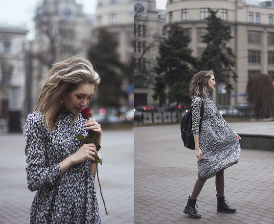 Septembrenell Rain - Trendsbrands Dress, Befree Bag - Www.trendsbrands.ru