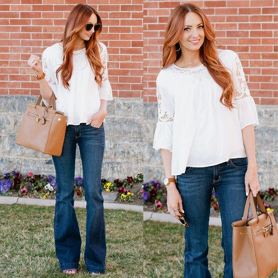 Jackie Welling - Pb&J Boutique Lace Top - Lace & Flares