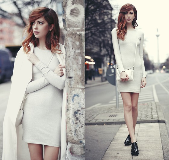 Ebba Zingmark - Ivyrevel Dress, Urban Outfitters Bag, Shellys London Shoes, Frontrowshop Coat - DO IT DO IT AGAIN
