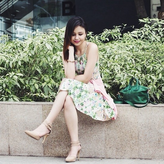 Nicole Aguinaldo - Style Stunner Manila Dress, Givenchy Bag, Forever 21 Heels - Summer Love