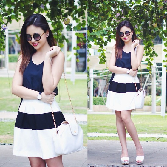 Nicole Aguinaldo - Just Clothing Ph Top, Vero Moda Skirt, Charles & Keith Shoes, Daniel Wellington Watch - Things Are Heating Up