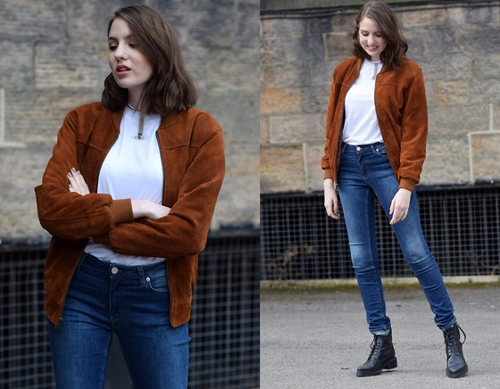 Lizzy Hadfield -  - Suede Bomber