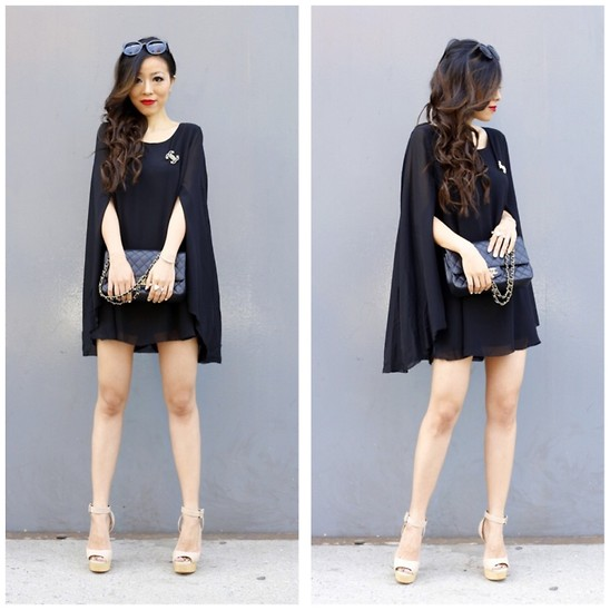 Sasa Zoe - Sunglasses, On Sale For $36 Cape Dress, Ring, Shoes, 30% Off With Code Frnfam Bag - CAPE DRESS