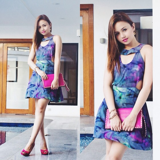Nicole Aguinaldo - This Is A Love Song Dress, Valentino Clutch, Steve Madden Heels - Love Me Like You Do