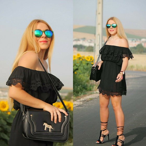 Estefania Laguna Etchemendi - Dresslink Dress, Mango Shoes - Black dress