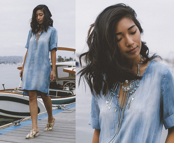 Stephanie Liu - Bella Dahl Dress - Cloudy Chambray